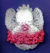 Angel Fridgie - crochet Shaw