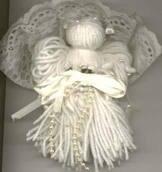 Yarn Angel Ornament Free Craft Web Of Angels